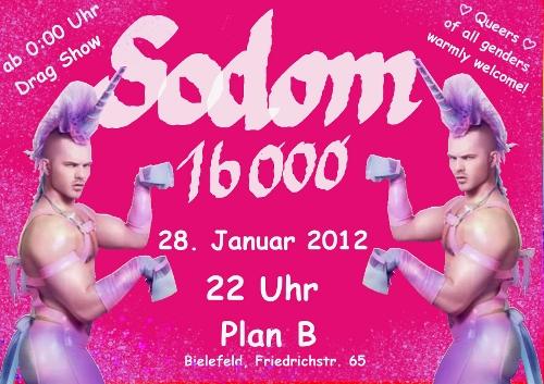 Sodom 16000 im Plan B, Bielefeld, 28.01.2012